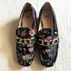 H&M Floral Pattern Loafer
